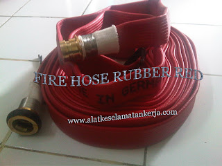 Fire Hose rubber red