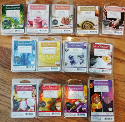 ScentSationals Scented Wax Melts - Early Spring 2016