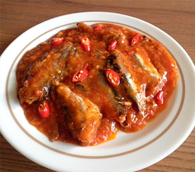 Sardine Sambal Recipe @ treatntrick.blogspot.com