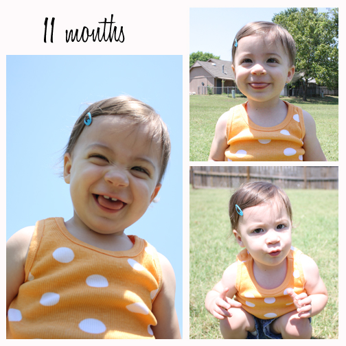 Our Little Olio: Letter to my 11 month old