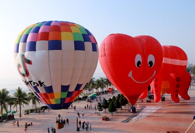 Những hình ảnh đẹp về lễ hội khinh khí cầu ở Đà Nẵng