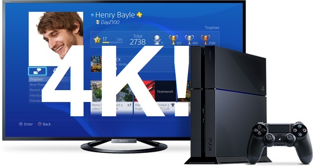 �звестная компания Sony подтвердила, что они начали разрабатывать более мощную 4K PlayStation 4