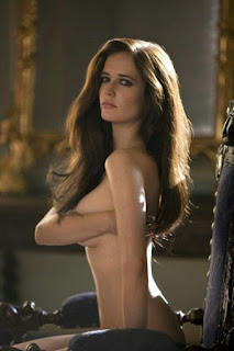 Eva Green Covering Her Boobs By Hands