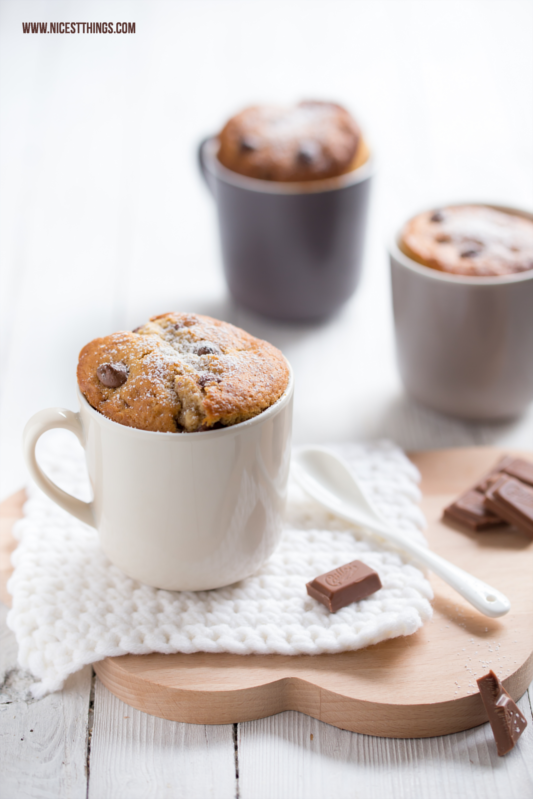 Tassenkuchen Rezept Schoko Chai Mug Cakes #tassenkuchen #mugcake #chai #schokolade