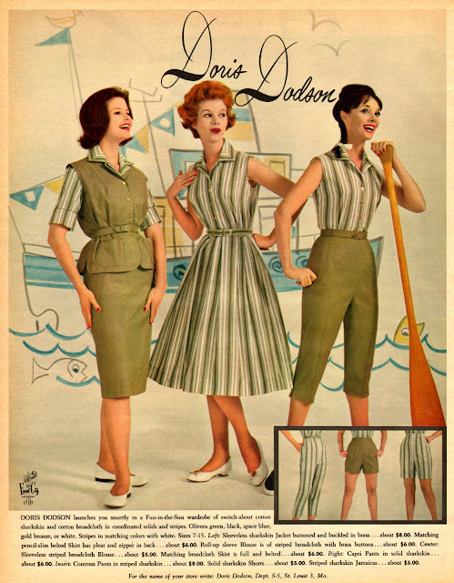Vintage Everyday: Fashion Advertisements In 1960 From