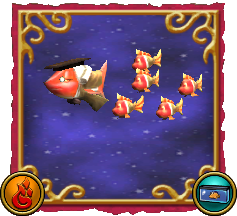 Wizard101 Fishing Dragonspyre Fish Fire School of Fish