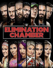 WWE Elimination Chamber 2018.  StrengthFighter.com