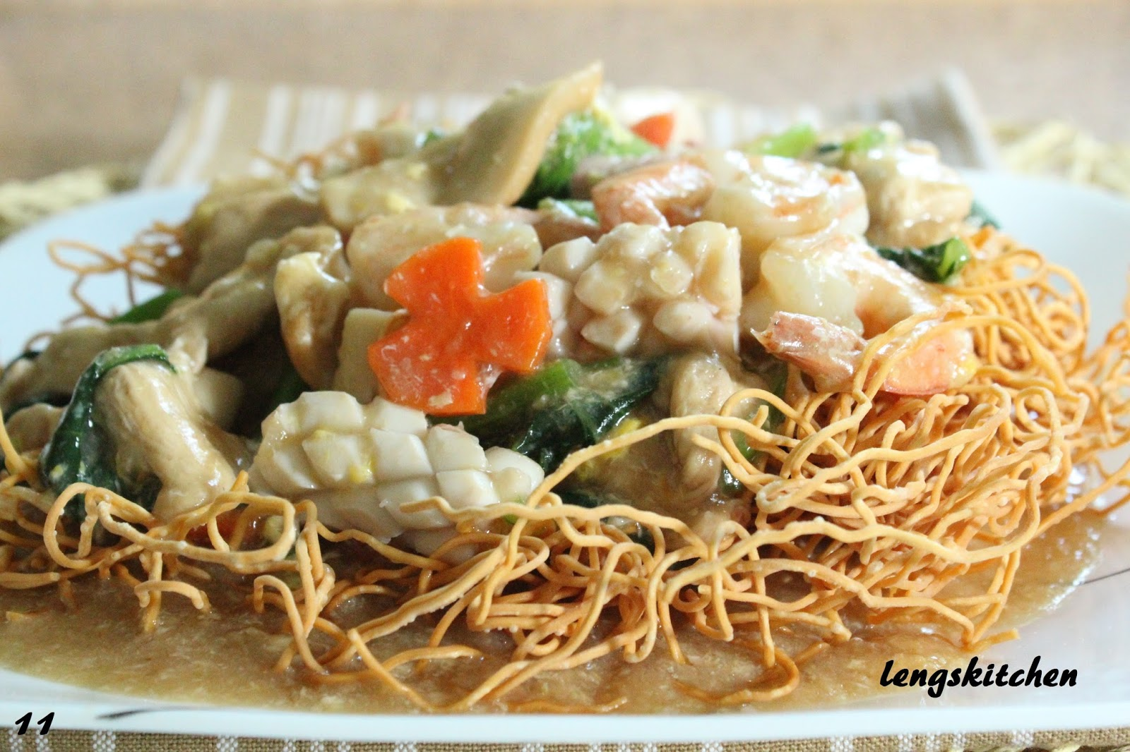 Chinese Restaurant Noodles Recipe