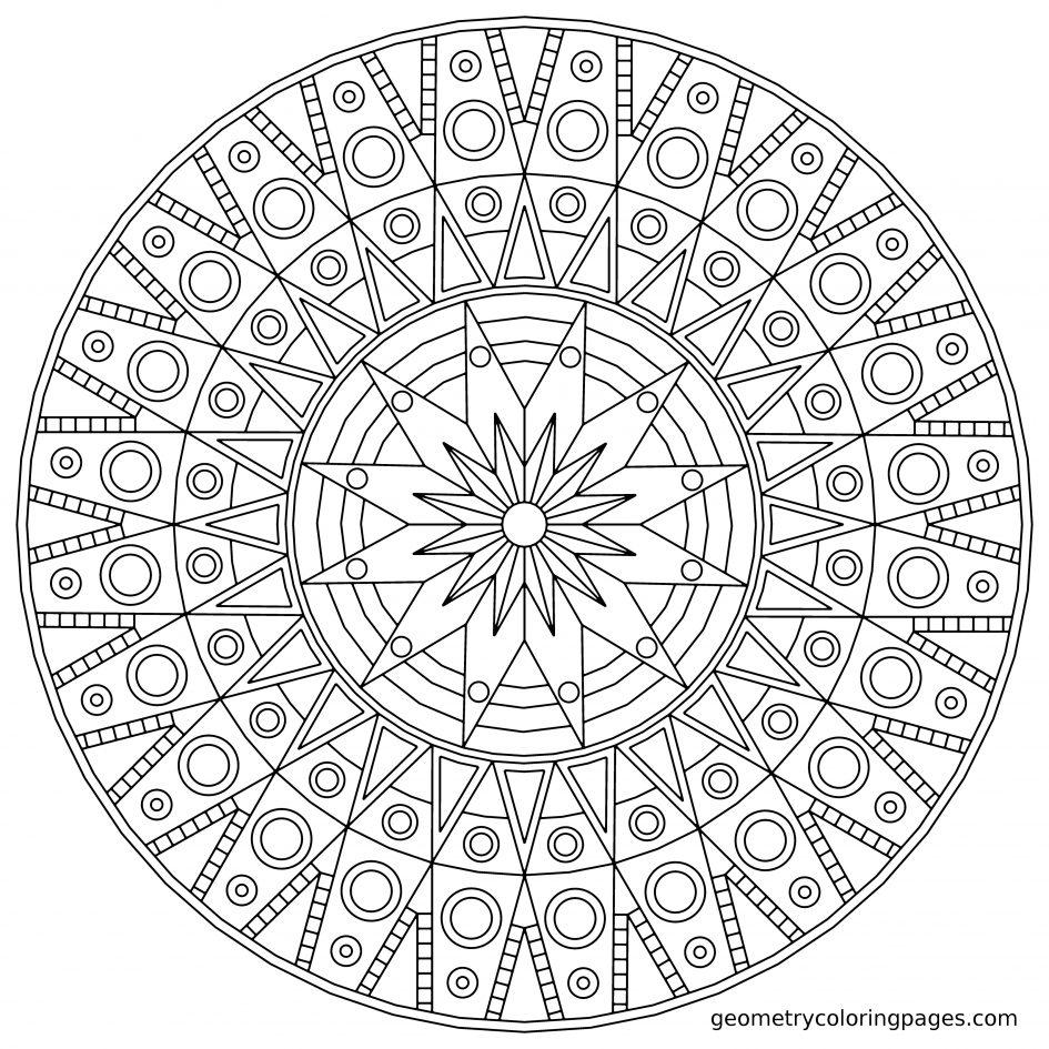 mandala coloring pages download - photo#41