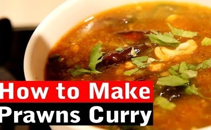 How to Make prawns curry | Wang's Kitchen