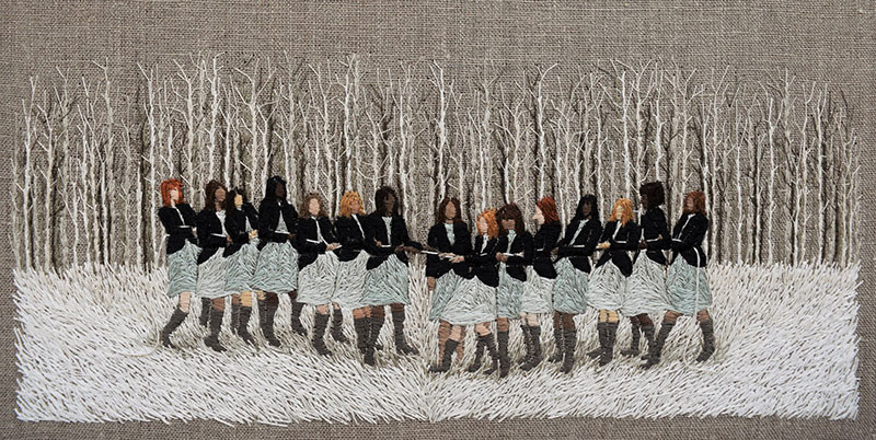 0afded5dad6 Psychological Landscapes: Embroideries by Michelle Kingdom