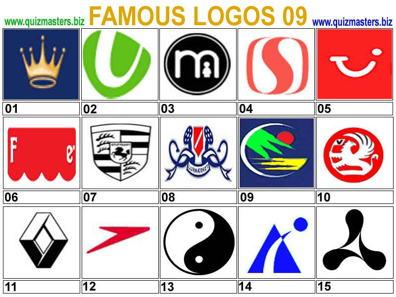 Latest New 2013: Famous Logos