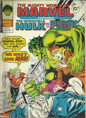Mighty World of marvel #327, Doc Samson and the Hulk