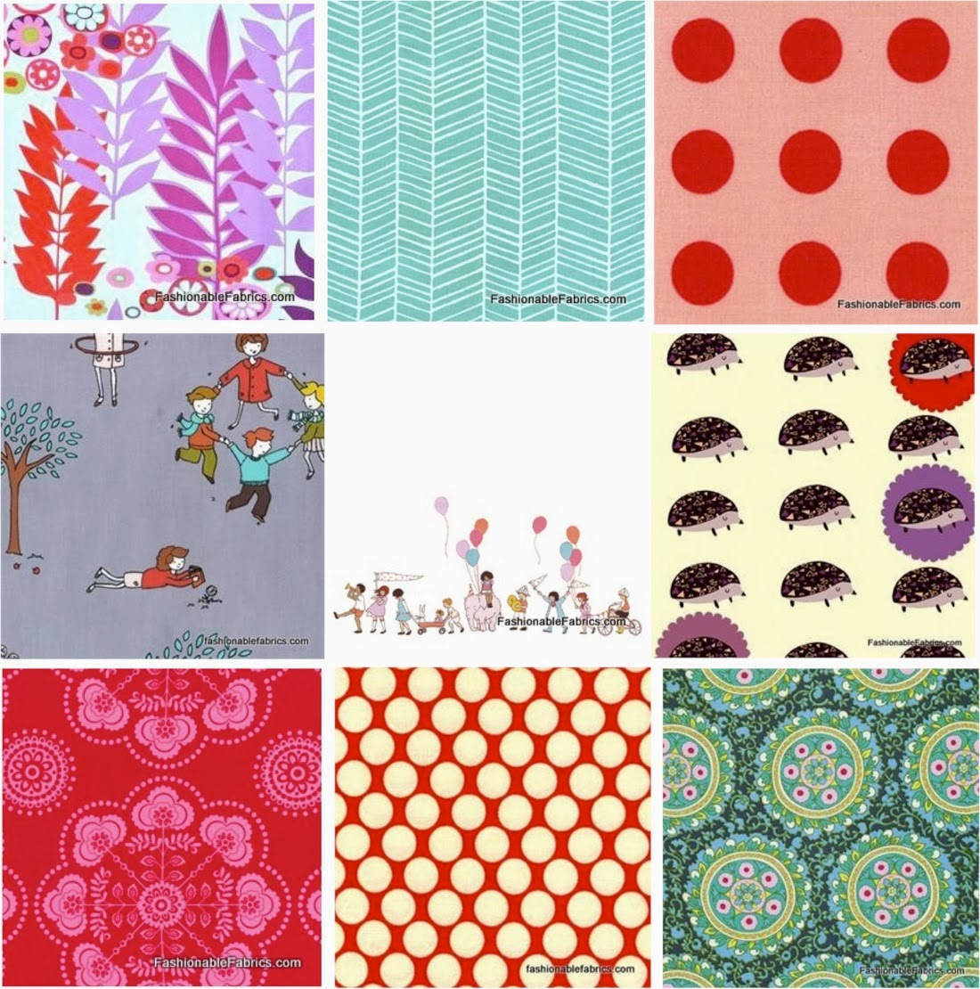Types Prints Fabric