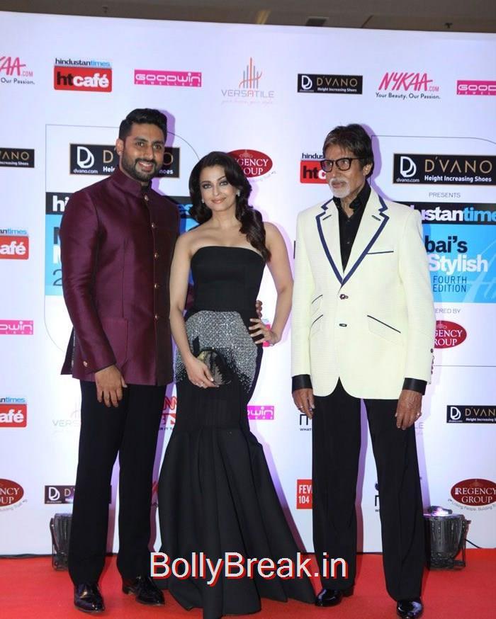 Abhishek Bachchan, Aishwarya Rai Bachchan, Amitabh Bachchan, Mumbai's Most Stylish Awards 2015 Full Photo Gallery