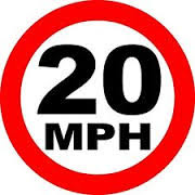 20 mph Street Sign