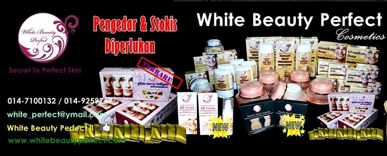 Foto Iklan White Beauty Perfect Produk Kecantikan Terhangat