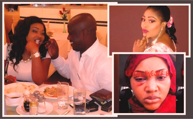 Mercy Aigbe domestic violence
