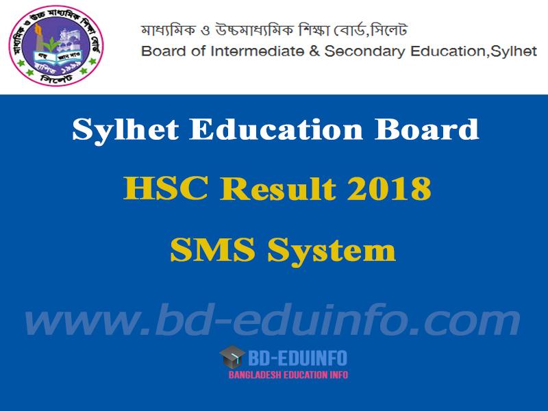 Sylhet Board HSC Result 2018