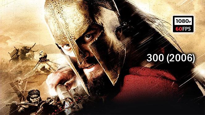 Los 300 Espartanos (2006) BDRip 1080p 60fps Español Latino-Castellano-Inglés
