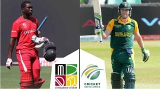Today Match Prediction South Africa vs Zimbabwe 2nd T20 Match