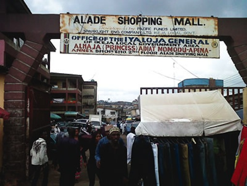 alade market ikeja shopping mall