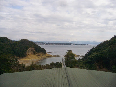 『紀州南部ロイヤルホテル』から眺めた海の景色