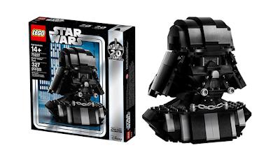 Star Wars Celebration 2019 Exclusive Darth Vader Bust LEGO Set