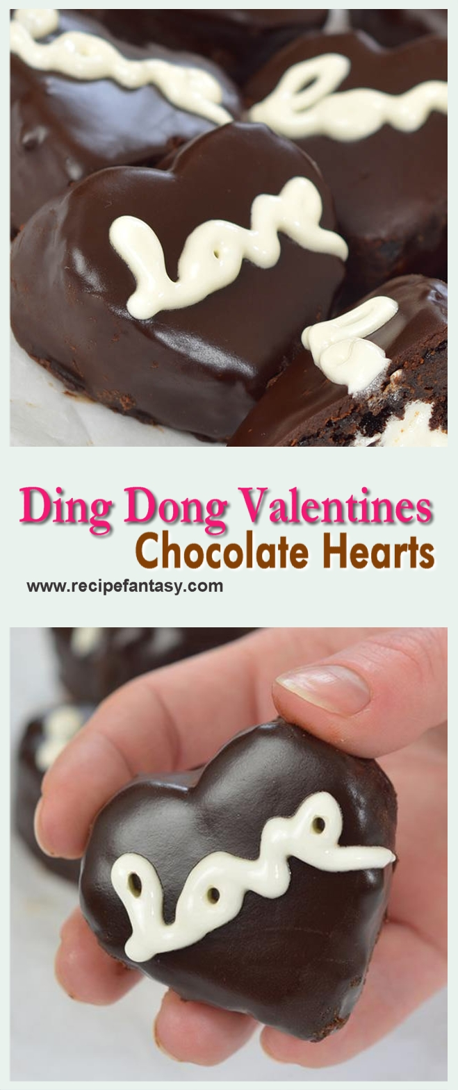 Ding Dong Valentines Chocolate Hearts