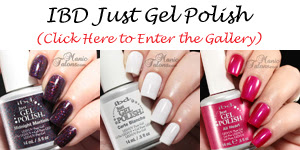 IBD Just Gel Polish Swatch Gallery
