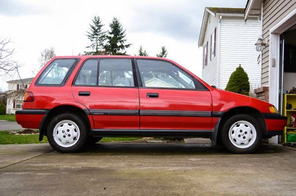 1989 Honda Civic Wagon 4WD for Sale - 4x4 Cars