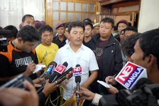 Bimal Gurung to visit Subash Ghisingh in Delhi