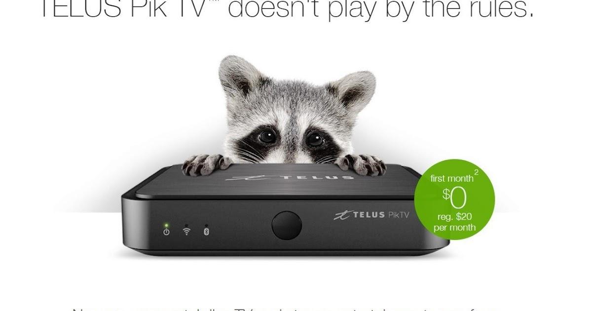 Telus Tv Telus Launched Its Own Android Tv Box Telus Pik