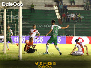 Yendrick Ruiz anota su primer gol con la camiseta de Oriente Petrolero - DaleOoo