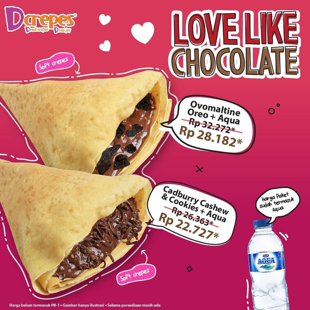 #Dcrepes - #Promo Spesial Paket Ovomaltine Oreo atau Cadburry + Minuman (s.d 28 Feb 2019)