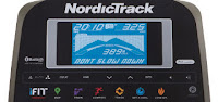"Nordic Track GX 4.4 Pro, 5"" blue-backlit display"