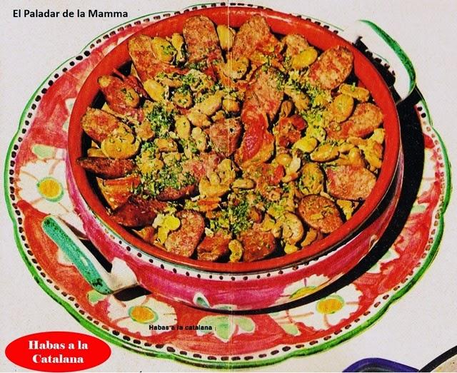 Recetas De Cocina Españolas | Recetas Habas A La Catalana Cocina Espanola Paladar Recetas