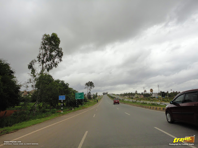 NH 44 (old number NH 7), near Chikballapur, Karnataka
