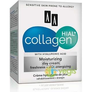 Cumpara de aici crema antirid de zi Hial Collagen 30+