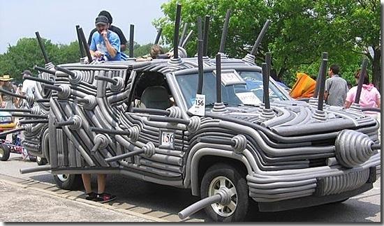 Carro Tubulação