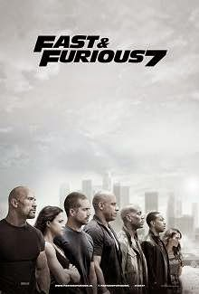 Fast & Furious 7 (2015) English Movie Poster