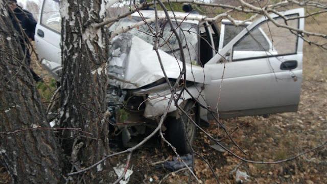 В Башкирии машина съехала в кювет: есть жертвы