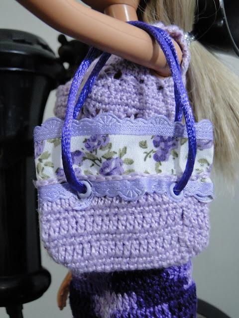 Bolsa de Crochê para Barbie criada por Pecunia Milliom