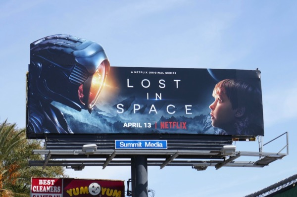 Lost in Space extension cut-out billboard