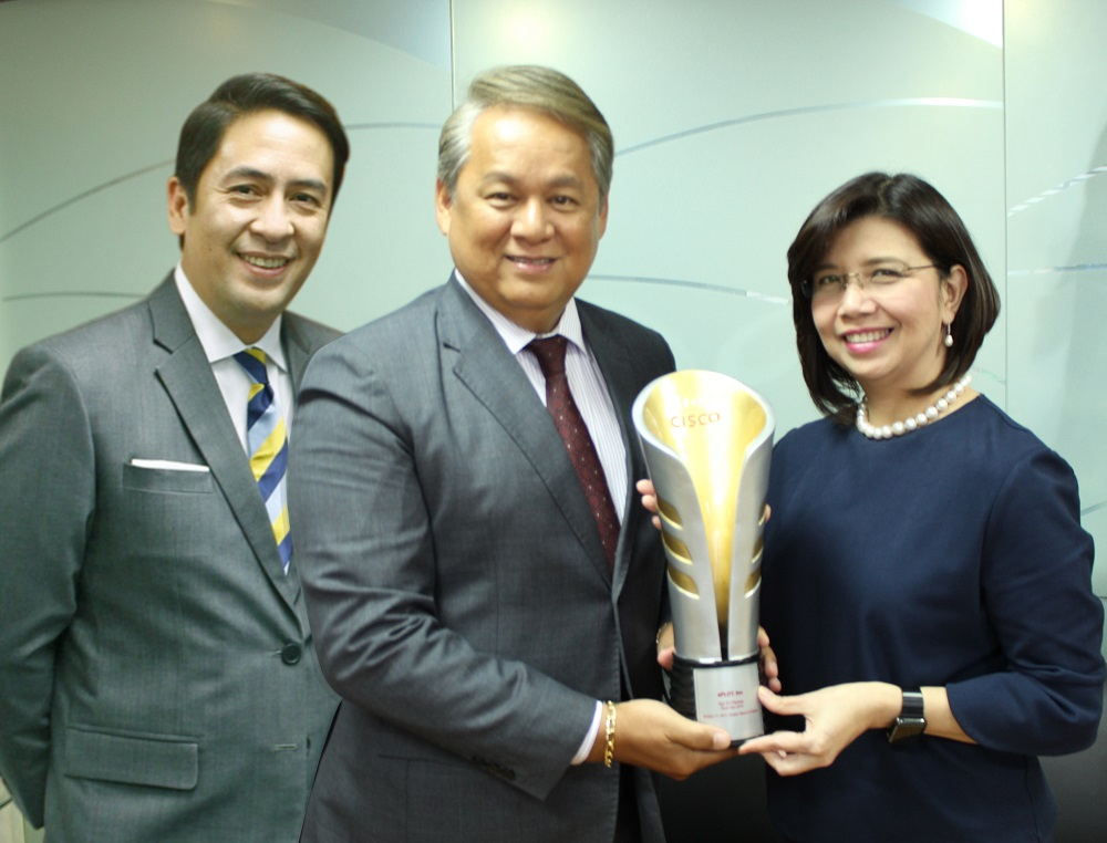 ePLDT receives Cisco 2-Tier Partner of the Year Award