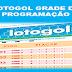 Lotogol 1028 programação grade dos jogos