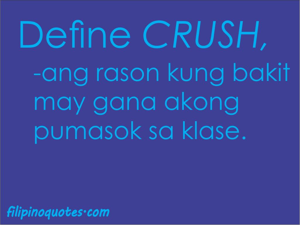 Crush Quotes Tagalog Quotesgram