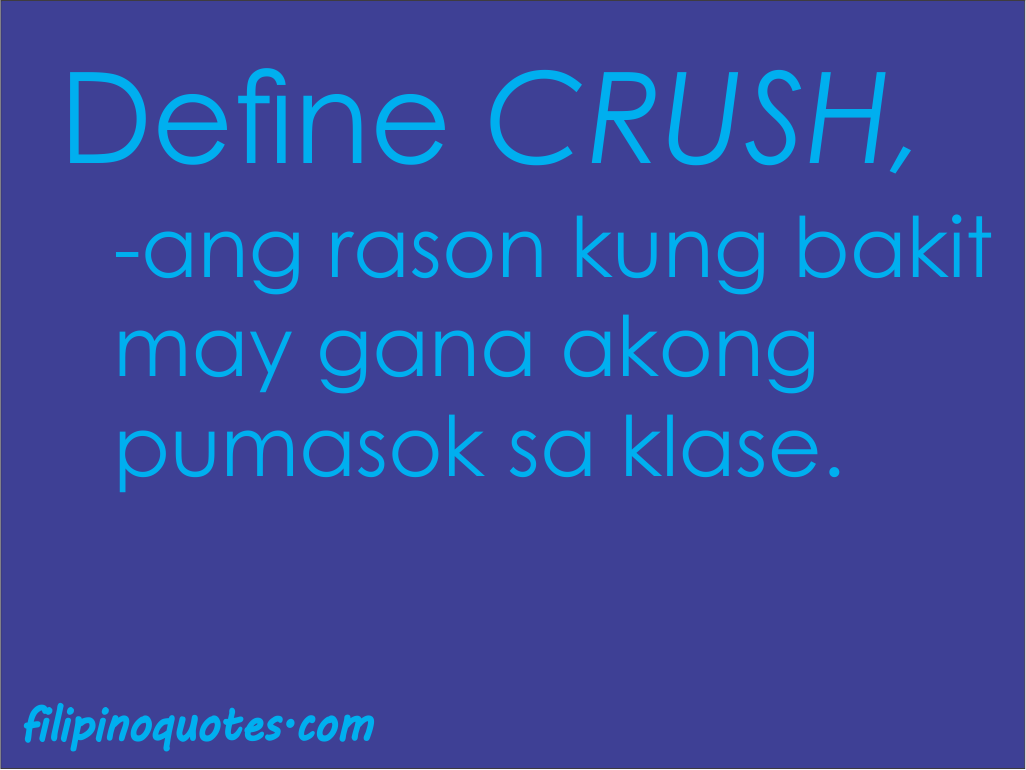Crush quotes tagalog love