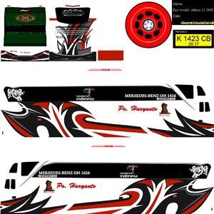 Livery SHD Haryanto Biasa 2 Bussid