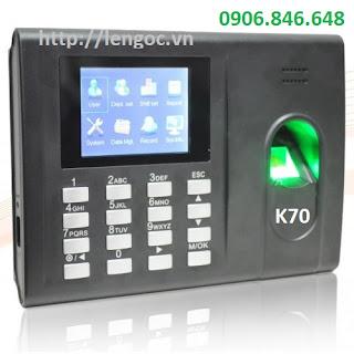 Máy chấm công vân tay K70